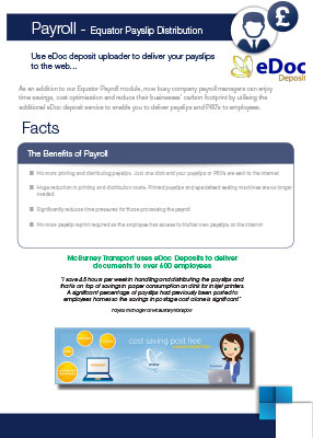 Click here to download our edoc payroll factsheet